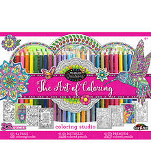 32-Piece Adult Coloring Set