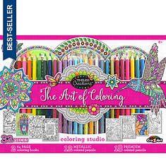Cra-Z-Art 32-Piece Adult Coloring Set