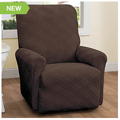 Double Diamond Stretch Slipcover - Recliner