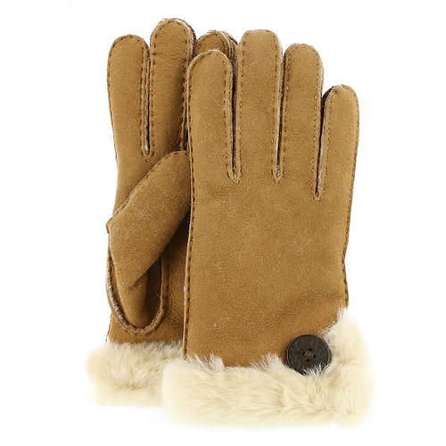 UGG® Women's Bailey Button Side Vent Shearling Glove