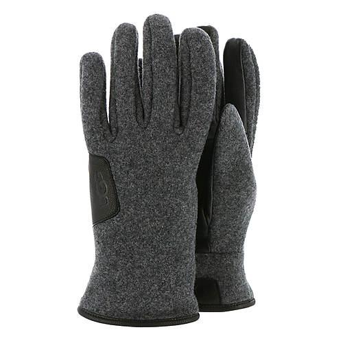 UGG® Men's Leather-Trimmed Fabric Smart Glove