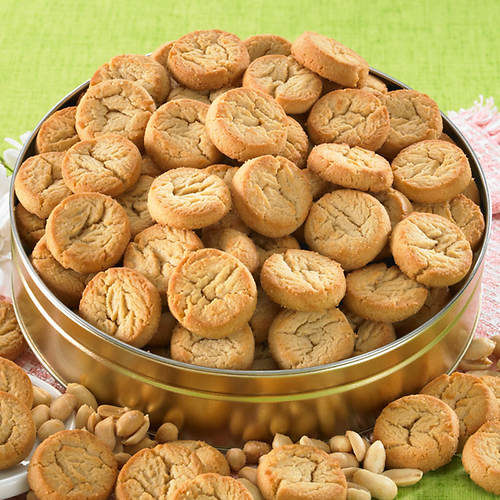 Peanut Butter Button Cookies