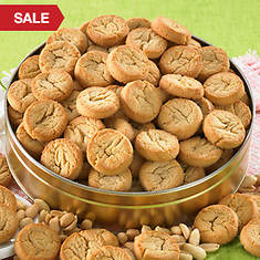Peanut Butter Button Cookies