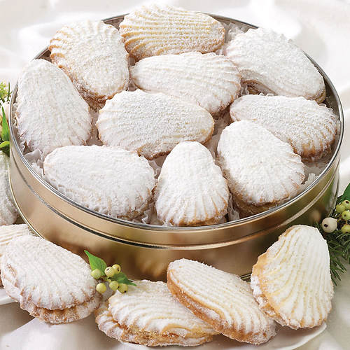 Angel Wing Cookies