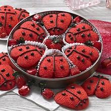 Lucky Ladybug Cookies