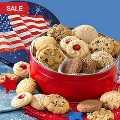Patriotic Cookie Tin