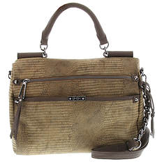 Jessica Simpson Deven Frame Satchel X-Body Bag
