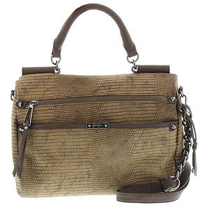 Jessica Simpson Deven Frame Satchel X-Body Bag
