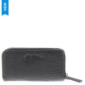 Jessica Simpson Hudson Dble Zip Book Wallet