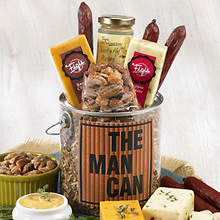 The Man Can of Classic Snacks