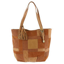 Lucky Jade Leather Tote Bag