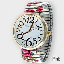 Flower Stretch Watch - Pink