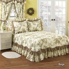 Geranium Bedspread - Beige
