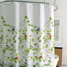 Bird Terrace Shower Curtain