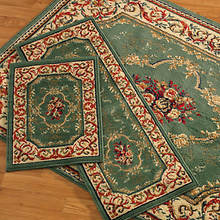 3-Pc. Rug Set - Rose Garden