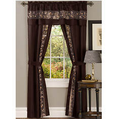 Fairfield Window Set - Chocolate
