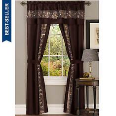Fairfield Window Set - Chocolate