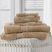 6-Pc. Egyptian Cotton Towels - Sandstone