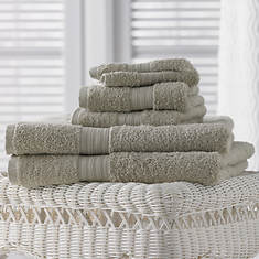 6-Pc. Egyptian Cotton Towels - Ice Gray