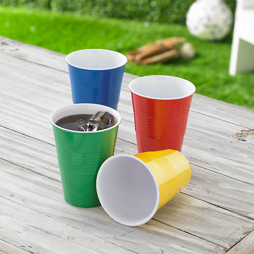 Melamine Picnic Set - 4 Pc. Cup Set