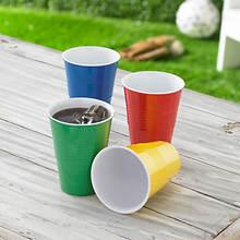 Melamine Picnic Set - 4 Pc. Cup Set