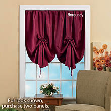Pull-Up Blackout Shade - Burgundy