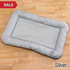 Pet Crate Pad - Silver
