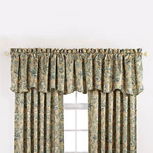 Monique Scalloped Valance - Taupe