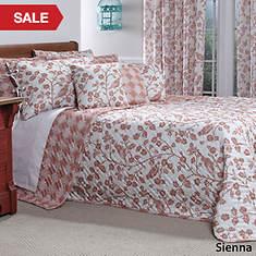 Botanica Quilted Bedspread - Sienna