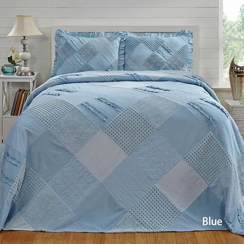Ruffle Chenille Bedspread
