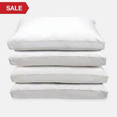 4-Pack Cotton Pillows