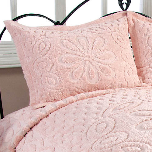 Chenille Bedspread Sham