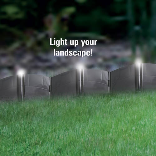 Solar LED Lighted Edging