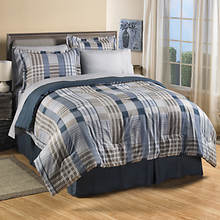 Stephanie Plaid Bedding Set