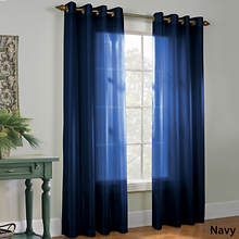 Milano Grommet Panel - Navy