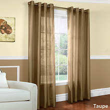 Milano Grommet Panel - Taupe