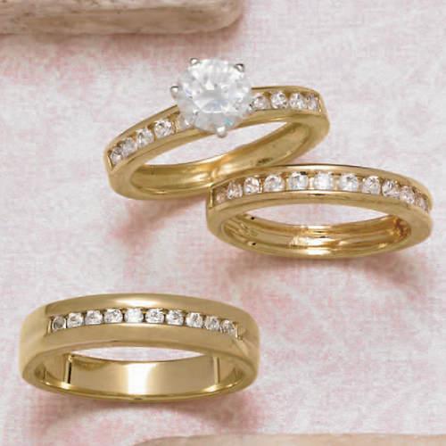 Wedding Ring Set Women's