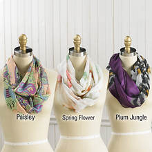 Infinity Scarves - Spring Flower