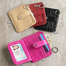 Credit Card Wallet - Red