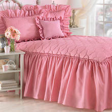 Mayfield Quilt Top Bedspread - Rose