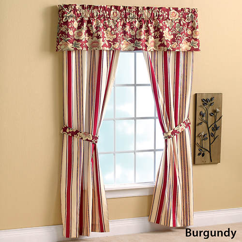 Mix 'n Match Stripe Foamback Curtains Striped Valance