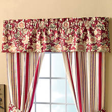 Mix 'n Match Floral Valance - Green