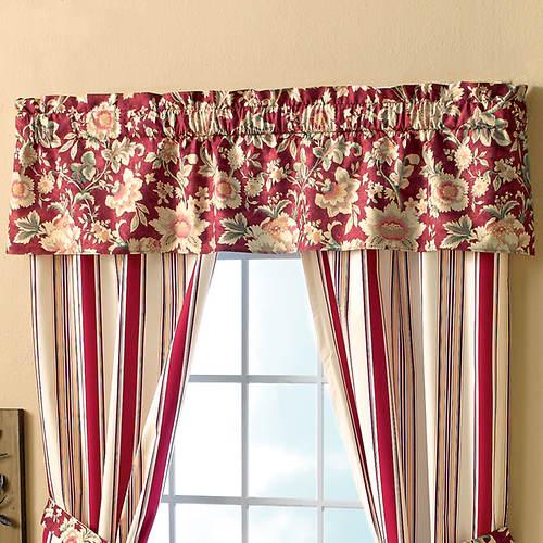 Mix 'n Match Stripe Foamback Curtains Valance