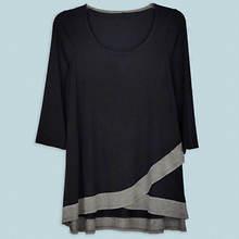 Crisscross Tunic Women's - Black