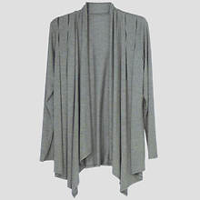 Waterfall Cardigan Misses' - Charcoal