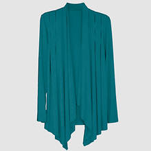 Waterfall Cardigan Misses' - Teal