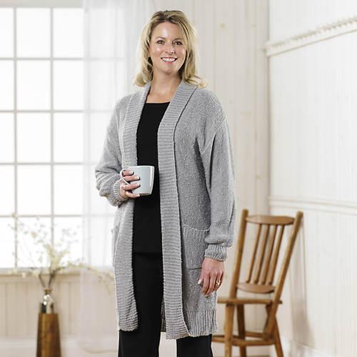 Boucle Sweater Jacket Women's