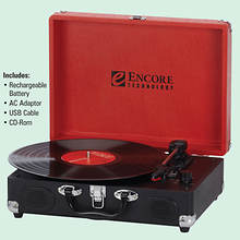 Encore Retro 3-Speed Turntable