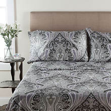 Crystal Palace Sheet Set - Gray