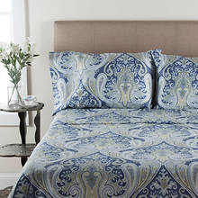 Crystal Palace Sheet Set - Blue